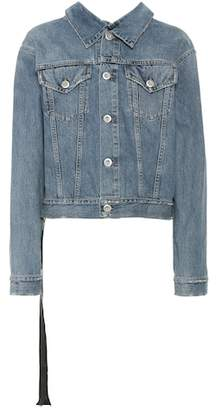 Unravel Oversized denim jacket