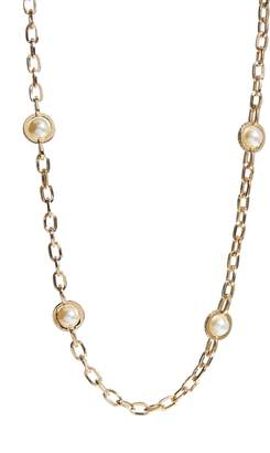 St. John Imitation Pearl Necklace