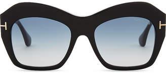 Prada Linea Rossa Emmanuelle square sunglasses