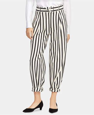Polo Ralph Lauren Striped Cotton Wide-Leg Pants