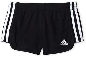 adidas Girls 4-6x) Black Around the Block Shorts