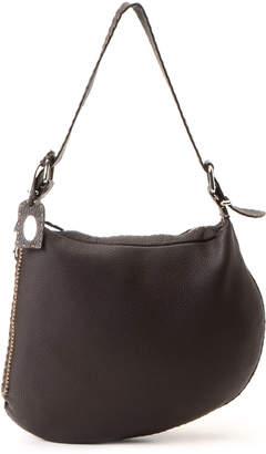 Fendi Dark Brown Shoulder Bag - Vintage