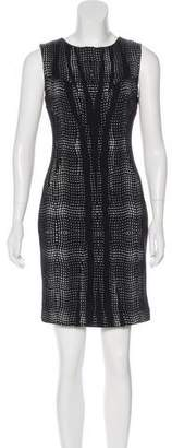 Diane von Furstenberg Printed Sheath Dress