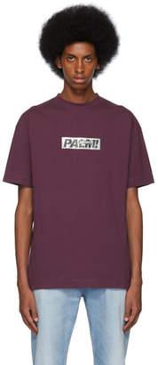 Palm Angels Purple Palm T-Shirt