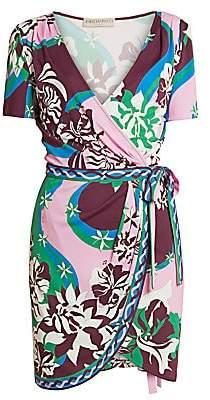 Emilio Pucci Women's Silk Jersey Wrap Dress