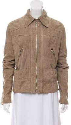 Dolce & Gabbana Suede Zippered Jacket w/ Tags