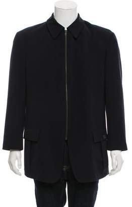 Giorgio Armani Zip-Up Jacket