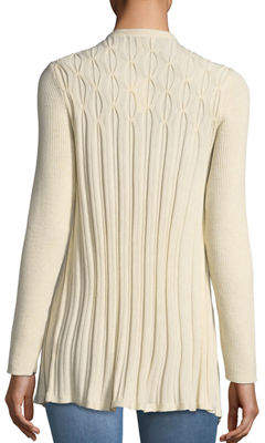 Neiman Marcus Cable Knit Cardigan