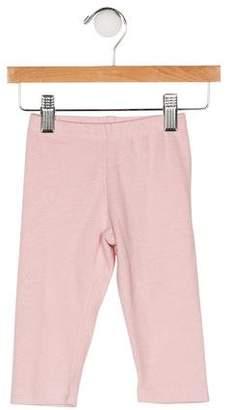 Il Gufo Girls' Knit Skinny Leggings