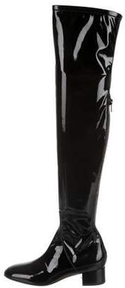 Valentino Patent Leather Over-The-Knee Boots w/ Tags