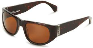 King Baby Studio Sunglasses Tortoise Midnight E18-0011 Polarized Square Sunglasses