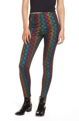 Jaded London Rainbow Mermaid Leggings