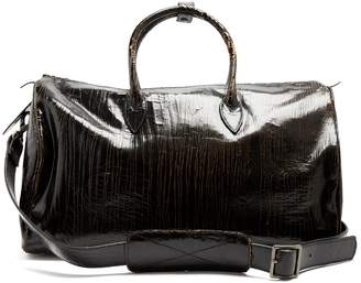Marc Marmel Roberta Doctor's cracked-leather holdall