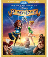 Disney The Pirate Fairy Blu-ray Combo Pack