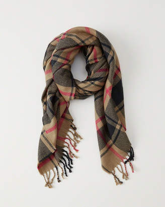 Abercrombie & Fitch Heavyweight Plaid Scarf