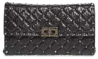 Valentino Rockstud Spike Wallet on a Chain