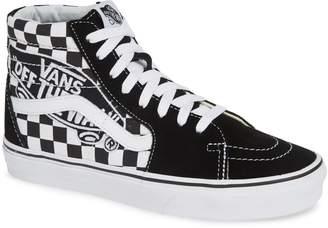 fb6374c1752 Vans Sk8-Hi Patch High Top Sneaker