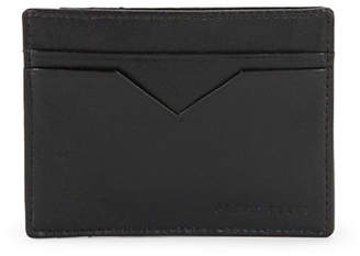 Perry Ellis Leather Card Case Wallet