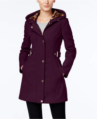 Via Spiga Water-Resistant Hooded Coat