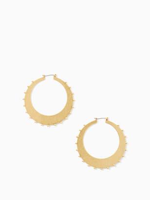 Kate Spade GOLD STANDARD studded hoops