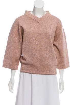 Marc Jacobs Oversize Metallic Sweatshirt