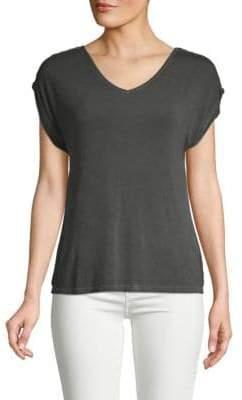Crisscross Short-Sleeve Top