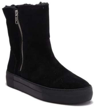 J/Slides Allie Faux Fur Lined Platform Boot