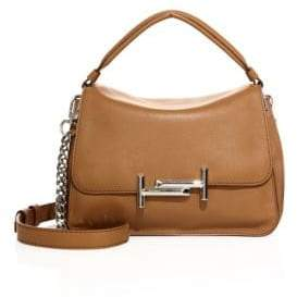 Tod's Double T Leather Messenger Bag