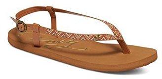 Roxy Women's Rosarito Sandals Flat Sandal $23.62 thestylecure.com