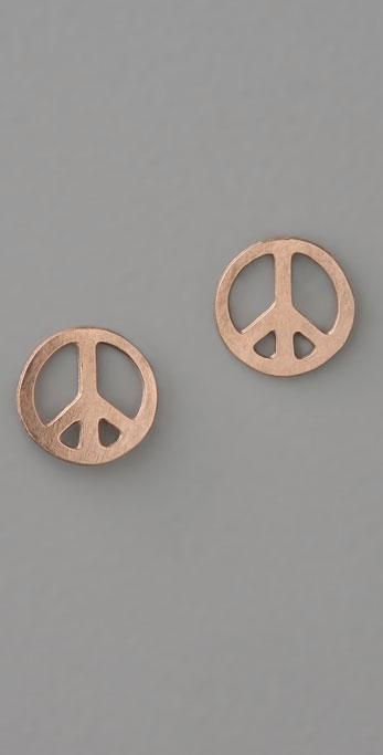 ginette_ny Mini Peace Studs