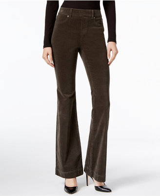 INC International Concepts Corduroy Flare-Leg Pants, Only at Macy's $79.50 thestylecure.com