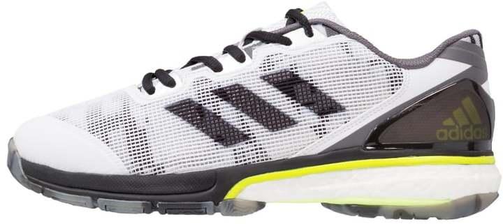 adidas stabil boost 20y handball shoes white core black. Black Bedroom Furniture Sets. Home Design Ideas