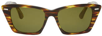 Acne Studios Tortoiseshell Ingridh Cat Eye Sunglasses