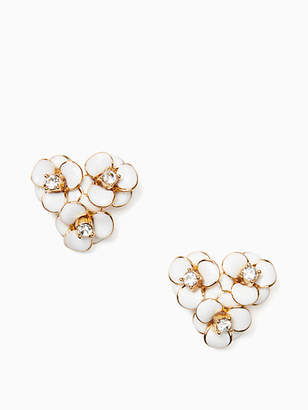 Kate Spade Shine on flower cluster studs