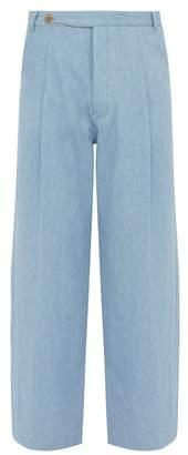 King & Tuckfield - Wide Leg Jeans - Mens - Blue