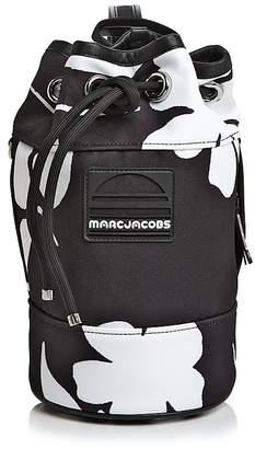 Marc Jacobs Small Drawstring Floral Print Sport Handbag