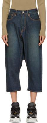 Junya Watanabe Blue Sarouel Selvedge Jeans