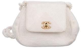 Chanel CC Silk Cord Bag
