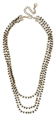 BaubleBar Kirrali Beaded Chain Necklace