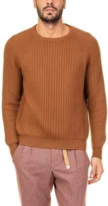 Ballantyne Round Neck Fisherman Sweater
