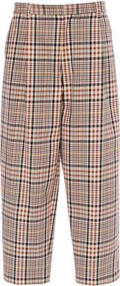 Wyatt Deveaux Cropped Cotton Pants