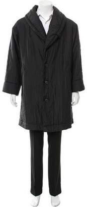 Issey Miyake Lightweight Knee-Length Coat