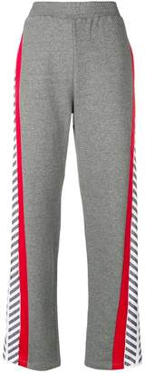 Equipment Plein Sport relaxed track trousers