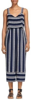 Whistles Lucy Striped Jumpsuit $279 thestylecure.com
