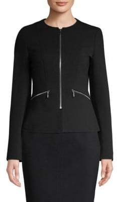 BOSS Jazulara Jersey Twill Lady Jacket