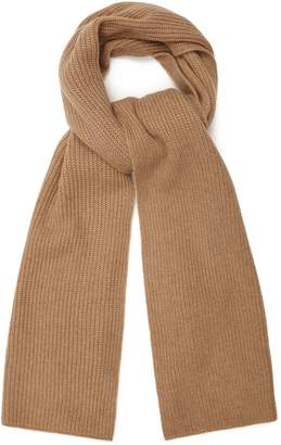 Reiss Emmerson Scarf - Cashmere Scarf in Camel