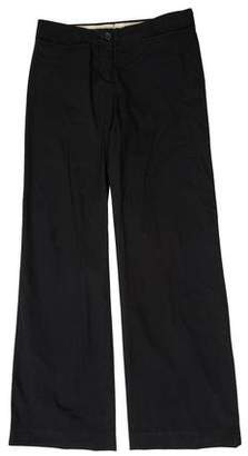 Miu Miu Low-Rise Wide-Leg Pants