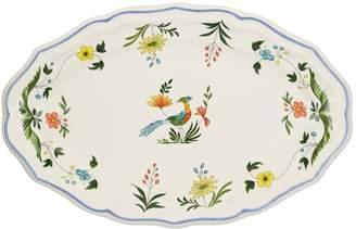 Gien Oiseaux de Paradis Oval Platter No. 6 (41cm)