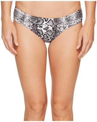 Tommy Bahama Snake Charmer Side Shirred Hipster Bottom Women's Swimwear