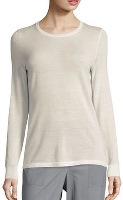 Lord & Taylor Crewneck Merino Wool Sweater $49.95 thestylecure.com